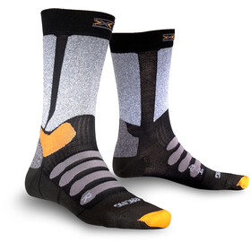X-Bionic XC Racing Socks Black/Grey Moulinè